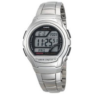 Casio Men's Waveceptor Digital Atomic Sport Watch WV58DA-1AV Silver
