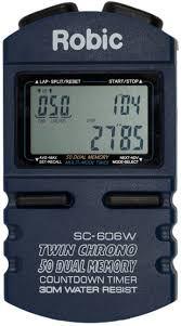 Robic SC-606W 50 Dual Memory Stopwatch (SC-606W)