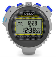 Oslo Silver 60 Dual Memory w/EL backlight by Robic (67764)