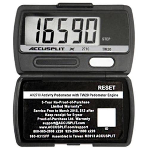 ACCUSPLIT AX2710 Pedometer (AX2710-xBX)