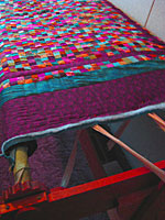 AmishQuilter Quilt in Frame