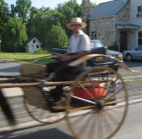 AmishQuilter Amish Wagon