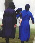 Amish Quilter - Plain Dress