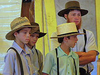 Amish Quilts - Young Men