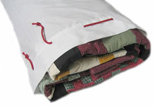 Amish Quilter quilt storage bag, one comes with every quilt purchase