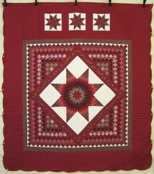 Lone Star Commons Patchwork Amish Quilt 103x115