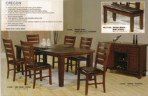 Oregon 7 Piece Dining Set