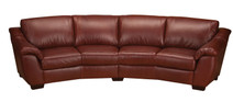 Leather Living Moon Sofa