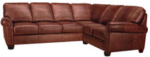 Leather Living Mackay Sectional