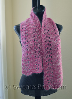 Mohair Lace Knitting Pattern From Sweaterbabe Com