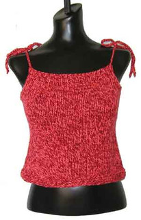 knitting pattern photo for #31 Simple Knit Tank PDF Knitting Pattern