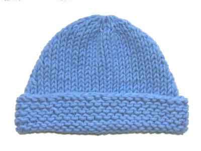 Very Easy Baby Beanie Knitting Pattern From Sweaterbabe