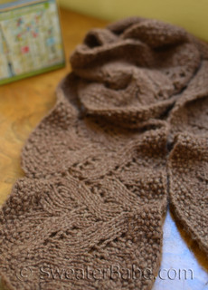 #97 Chic Ruffled Edge Lace Scarf