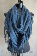 photo for #123 Sophisticated Boho Eternity Scarf PDF Knitting Pattern