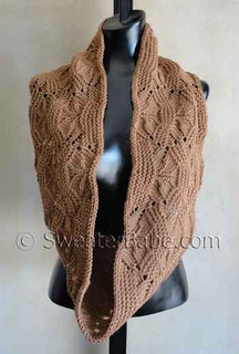 photo of #125 Luxe Infinity Scarf PDF Knitting Pattern