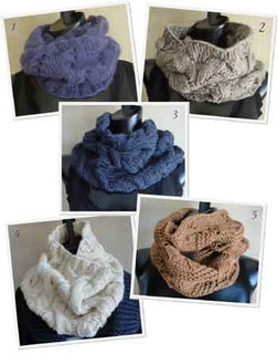 photo of #EB0002 SweaterBabe.com's 5 Best Cowls to Knit Now! PDF eBook