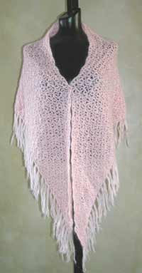 Crochet Mohair Lace Shawl Pdf Crochet Pattern From Sweaterbabecom