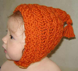 photo of #58 FREE Crochet Pixie Hat