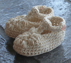 photo of #86 Fancy Crochet Baby Booties