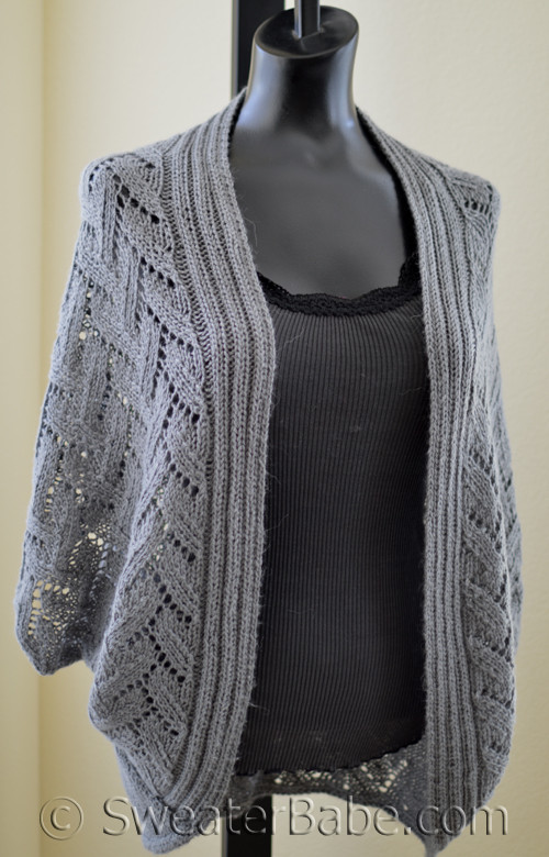 Pdf Knitting Pattern For Calida Luxe Cocoon Cardigan From