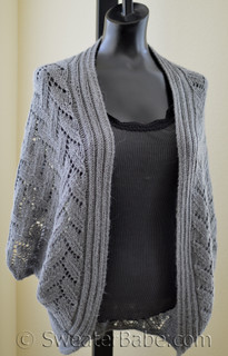 knitting pattern photo for Calida Cocoon Cardigan
