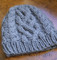 One-Ball Chunky Cabled Hat knitting pattern