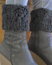 quick chunky boot cuffs knitting pattern