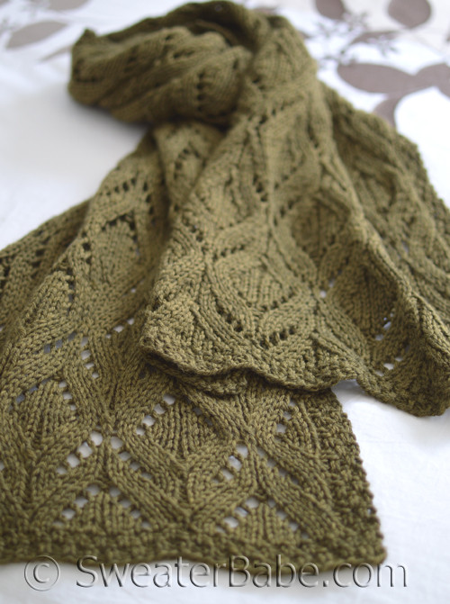 Pdf Knitting Pattern For Marquise Stolescarf From Sweaterbabe