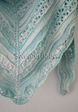 crystal cove shawlette knitting pattern