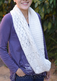 prosecco infinity scarf knitting pattern