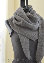 contrivance shawl knitting pattern