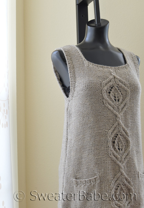 Pdf Knitting Pattern For Kiana Vest For Women From Sweaterbabe