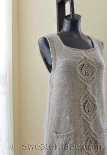 kiana women's vest knitting pattern