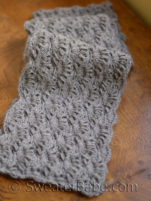 Pdf Knitting Pattern For Alpaca Crochet Scarf From Sweaterbabe