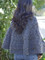 chunky cable poncho knitting pattern
