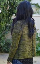 teagan cardigan pdf knitting pattern in size S
