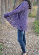 Viveca Cardigan knitting pattern