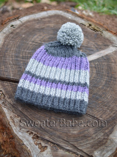 rory ribbed hat pdf knitting pattern