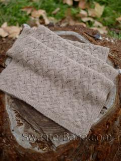 amelia stole knitting pattern