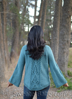 Hadley Cabled Sweater pdf knitting pattern