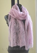 candlelight shawl knitting pattern