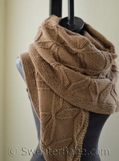 twisted lattice shawl pdf knitting pattern