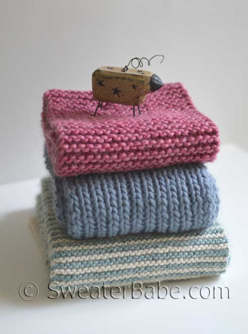 Pdf Knitting Pattern For 3 Beginner Scarves One Cowl From