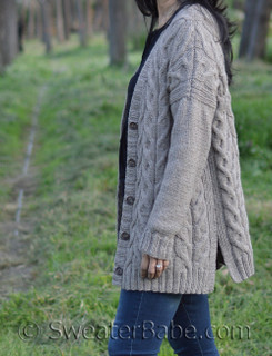 maelynn cabled cardigan knitting pattern