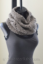 Lyra Cowl pdf knitting pattern
