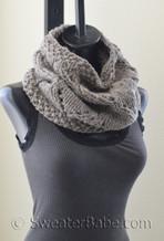 Lyra Cowl pdf knitting pattern