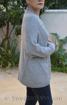 cozy dolman cardigan pdf knitting pattern