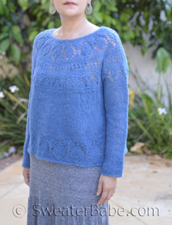 maris top-down sweater pdf knitting pattern