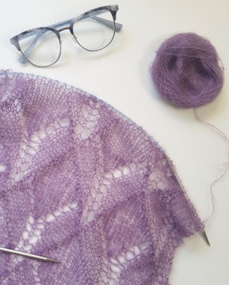 amethyst shawl pdf knitting pattern