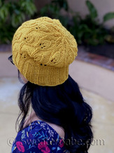 unfolded-brim version of alina hat